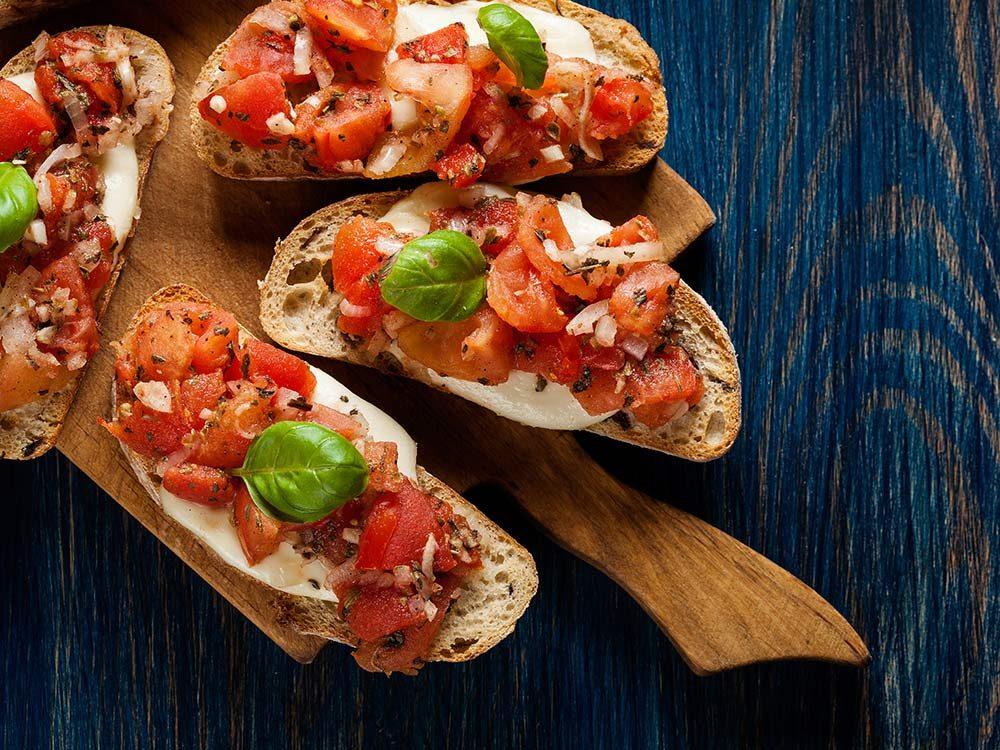 Bruschetta is one of the most mispronounced words