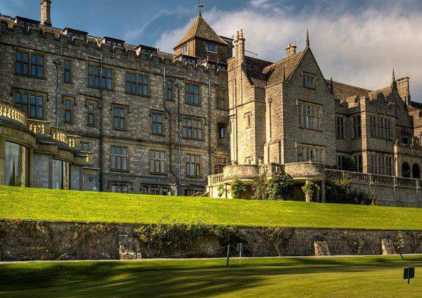 Bovey Castle in Devon, England is one of the most beautiful castles in the world