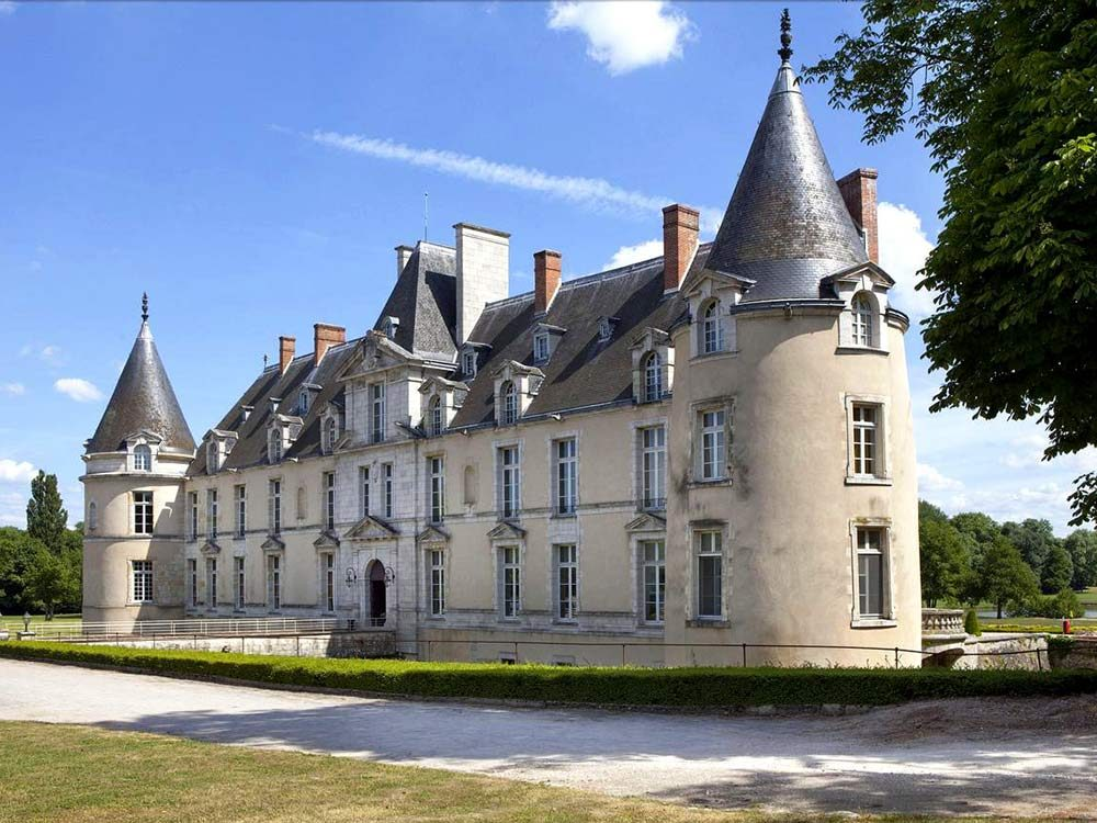 Chateau d'Augerville in France
