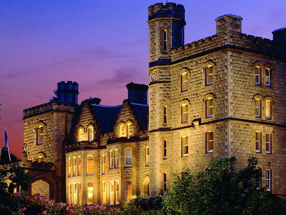 Inverlochy Castle in Scotland