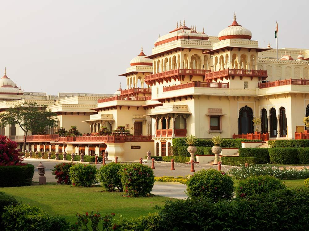 Rambagh Palace in Jaipur, India