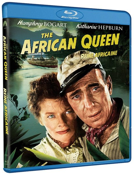 Blu ray cover of The African Queen