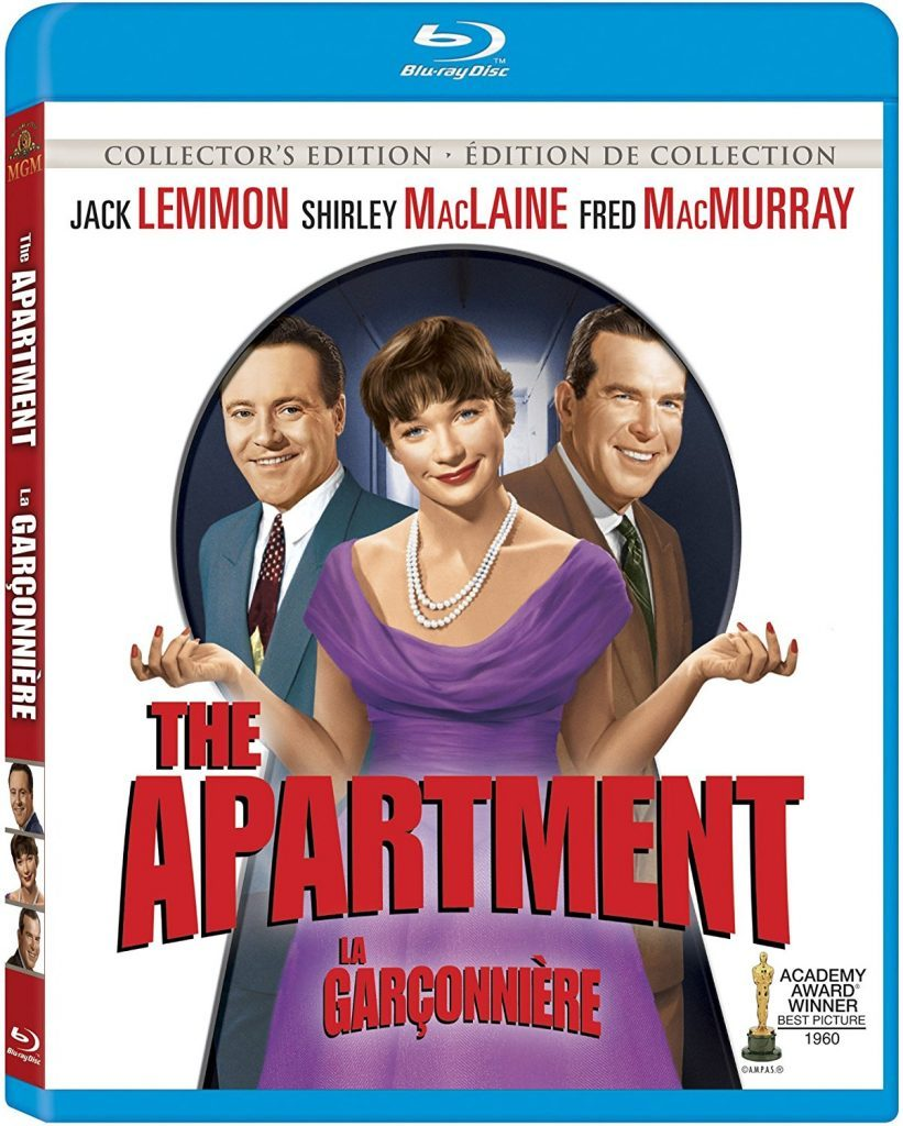 Blu ray cover of The Apartment