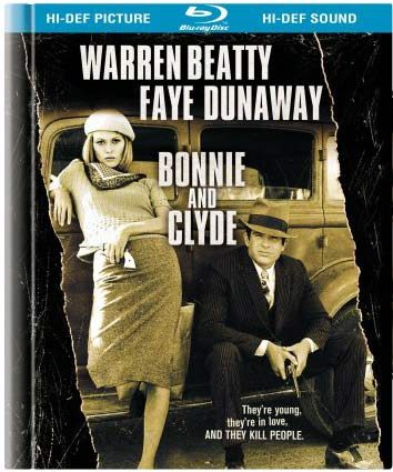 Blu ray cover of Bonnie and Clyde
