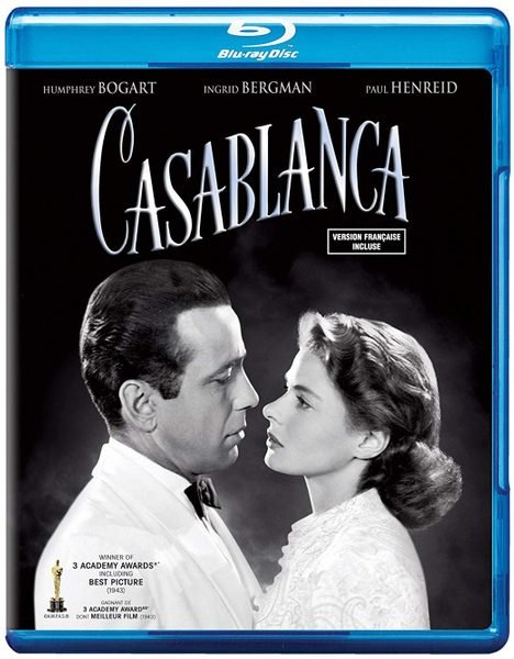 Blu ray cover of Casablanca