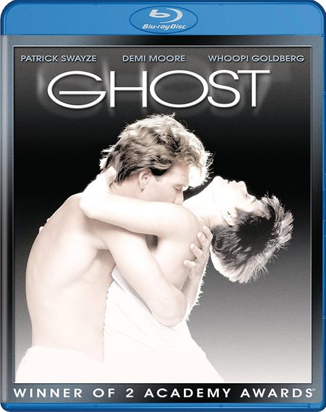 Blu ray cover of Ghost