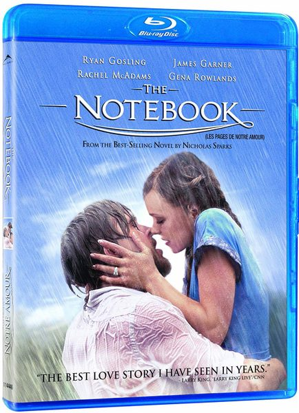 Blu ray cover of The Notebook