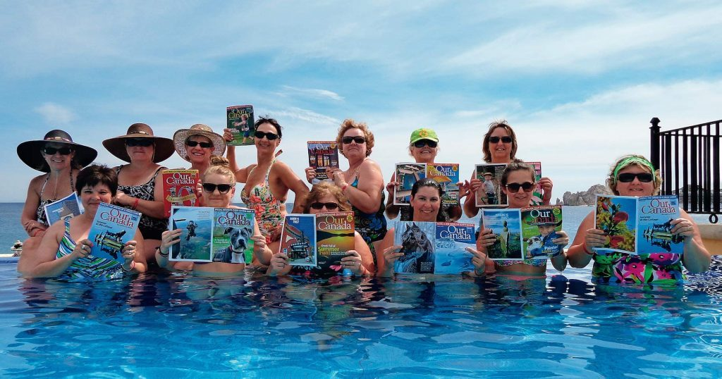 Our Canada readers in Cabos, Mexico