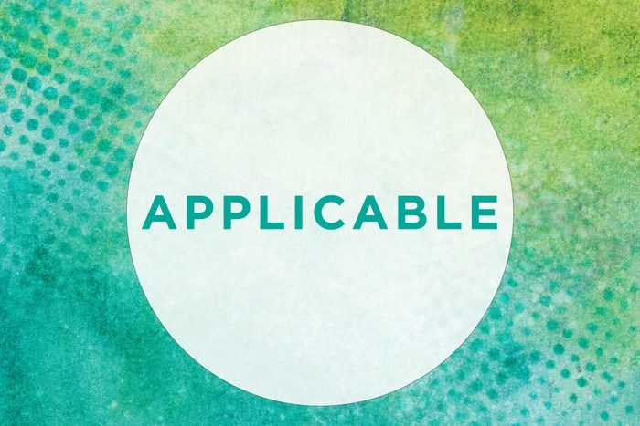 How to pronounce applicable