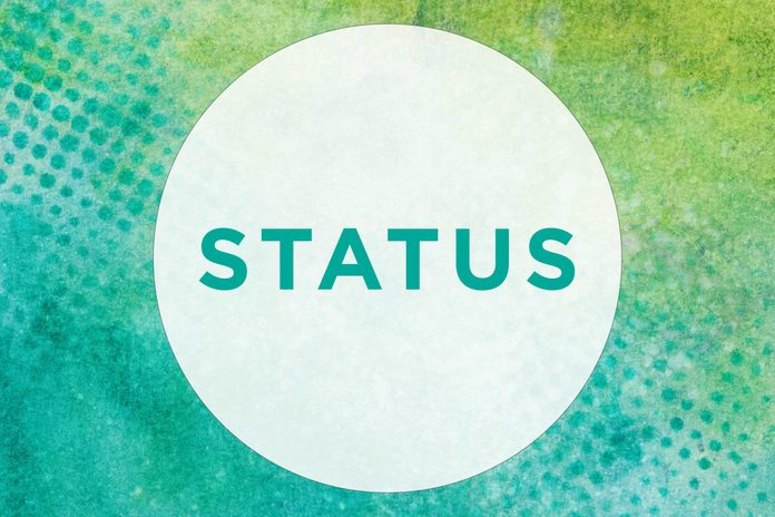 How to pronounce Status