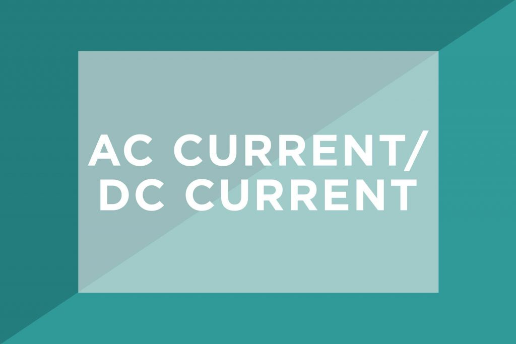 AC current/DC current