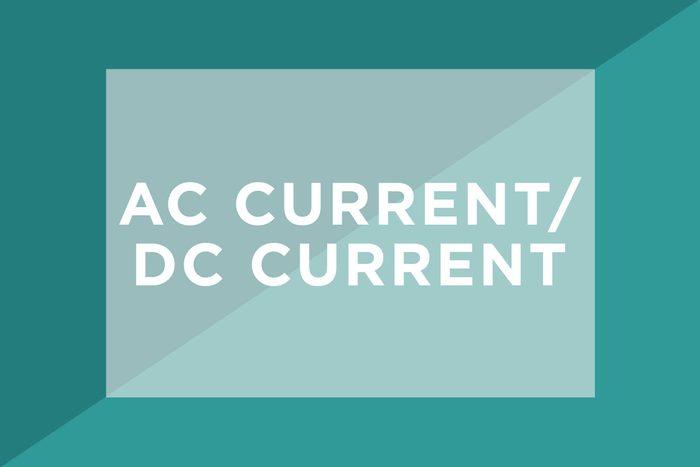 AC current/DC current