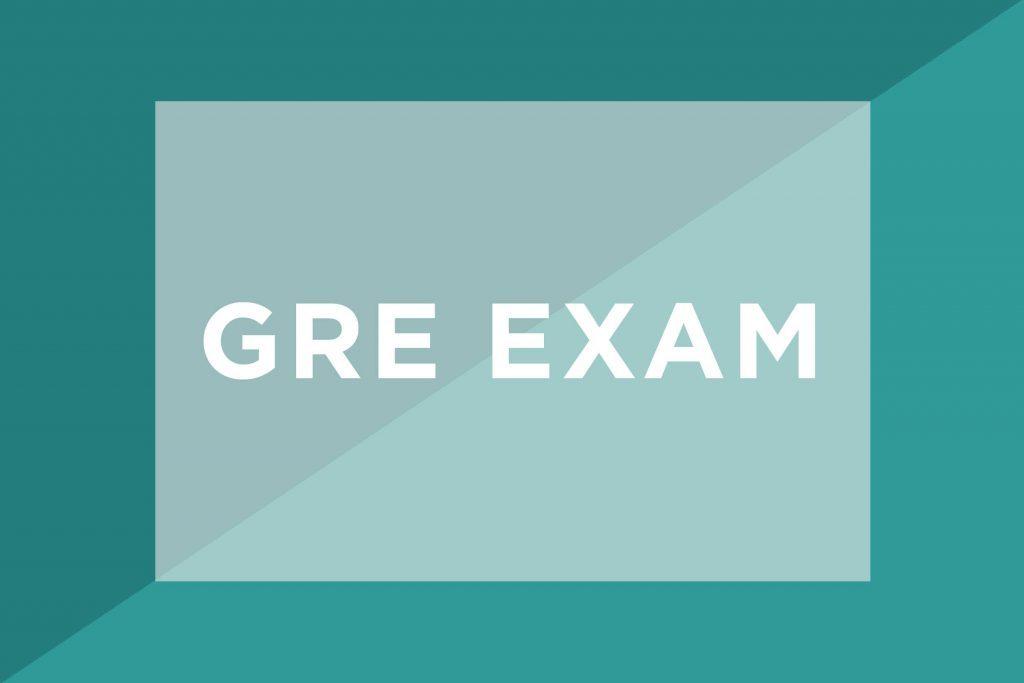 GRE Exam text