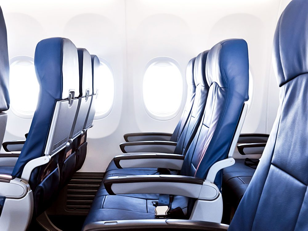The safest seats on a plane