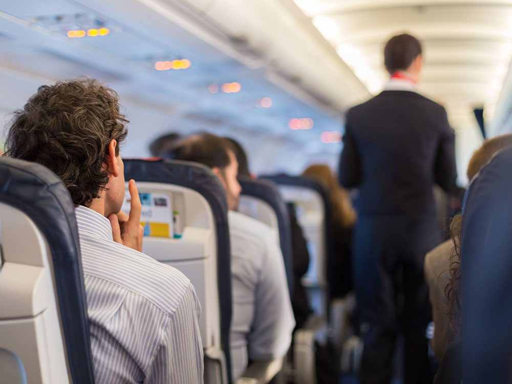 The safest way to sit in a plane crash