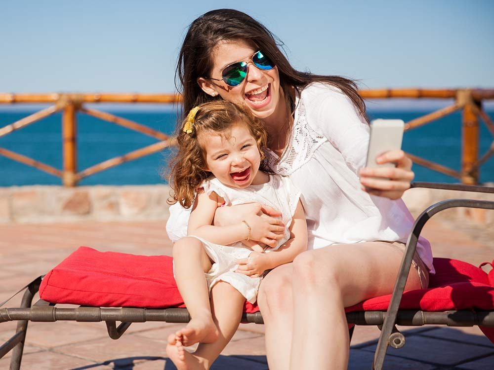 Smartphones can keep the whole family on top of things