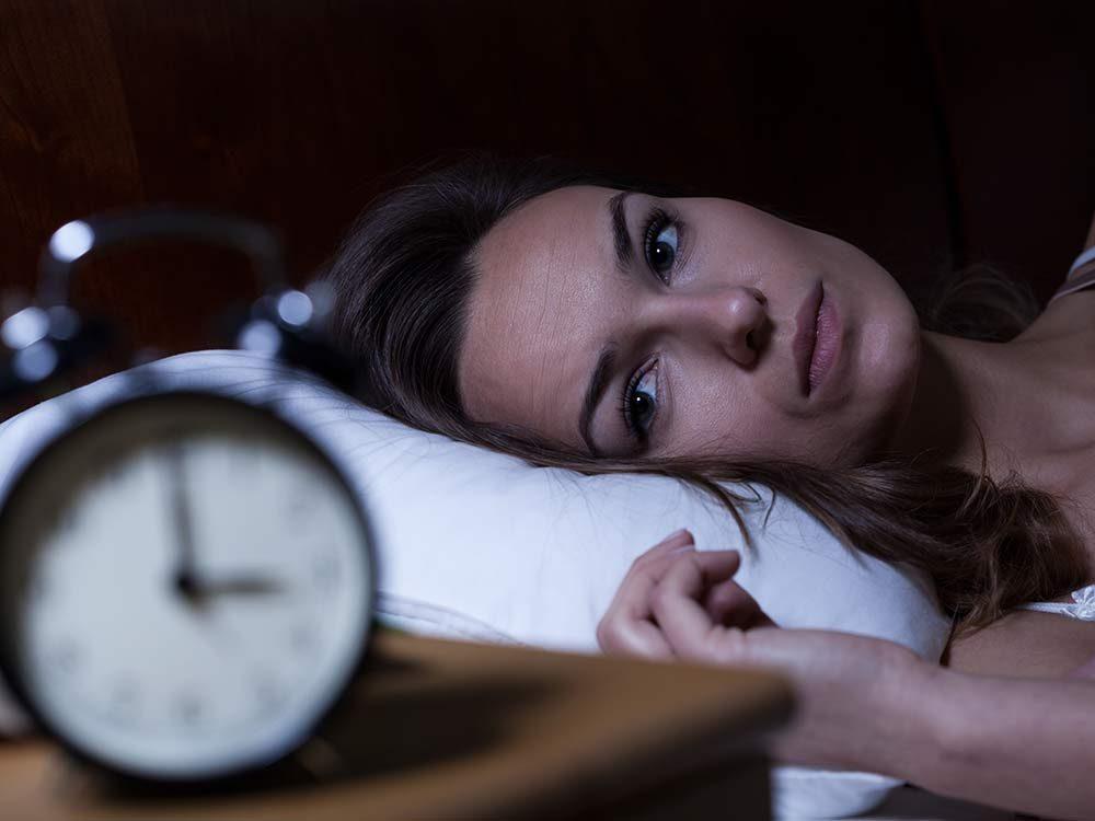 A full moon might keep you awake