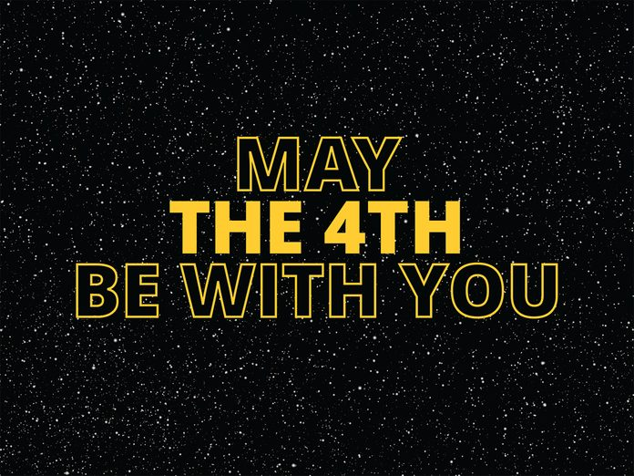 Star Wars jokes - may the 4th be with you