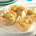 Tuna and Egg Filo Tartlets