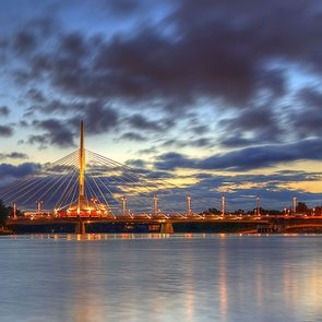 Things to do in Winnipeg - sunset