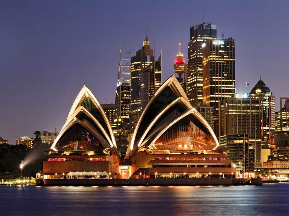 Opera House in Sydney, Austaralia