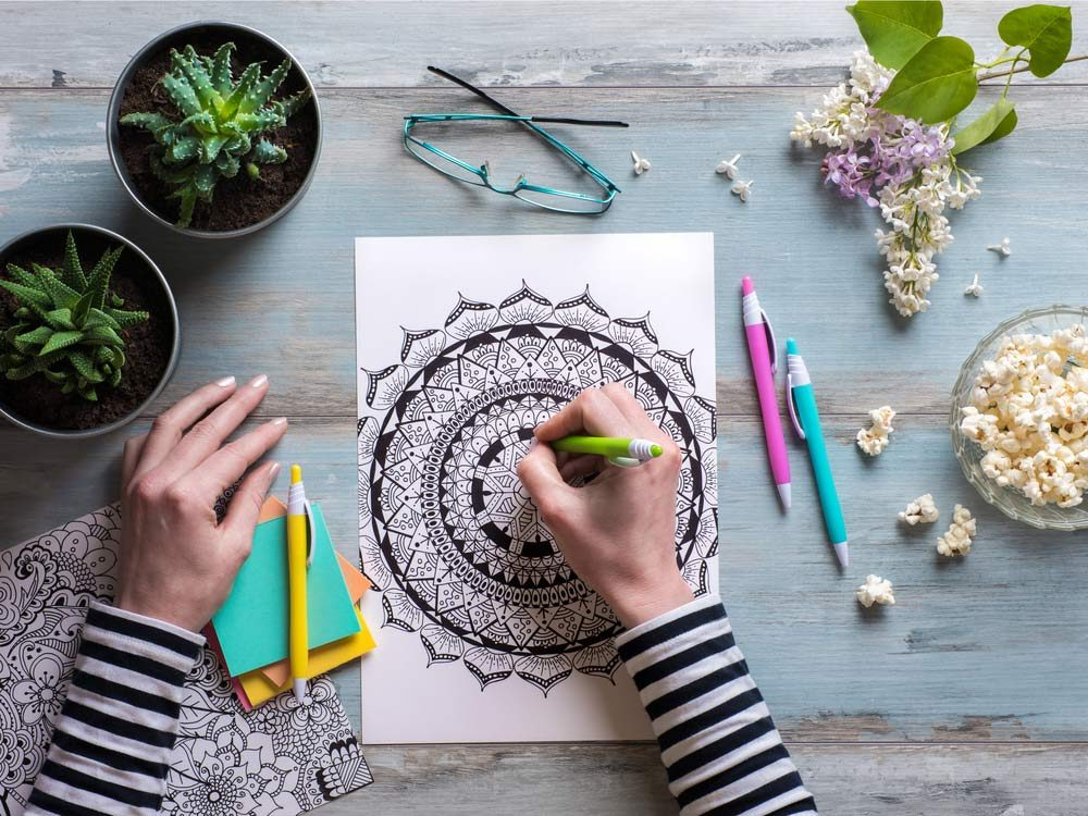 Colouring Can Help You Age Gracefully