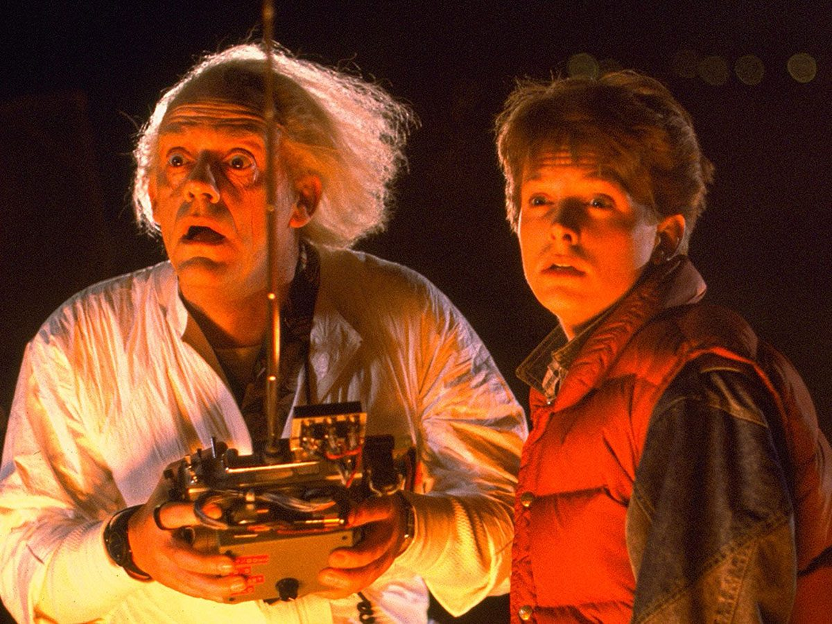 Time travel movies - Back to the Future