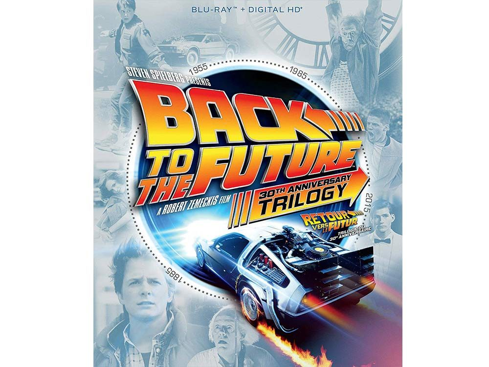 Back to the Future blu ray cover