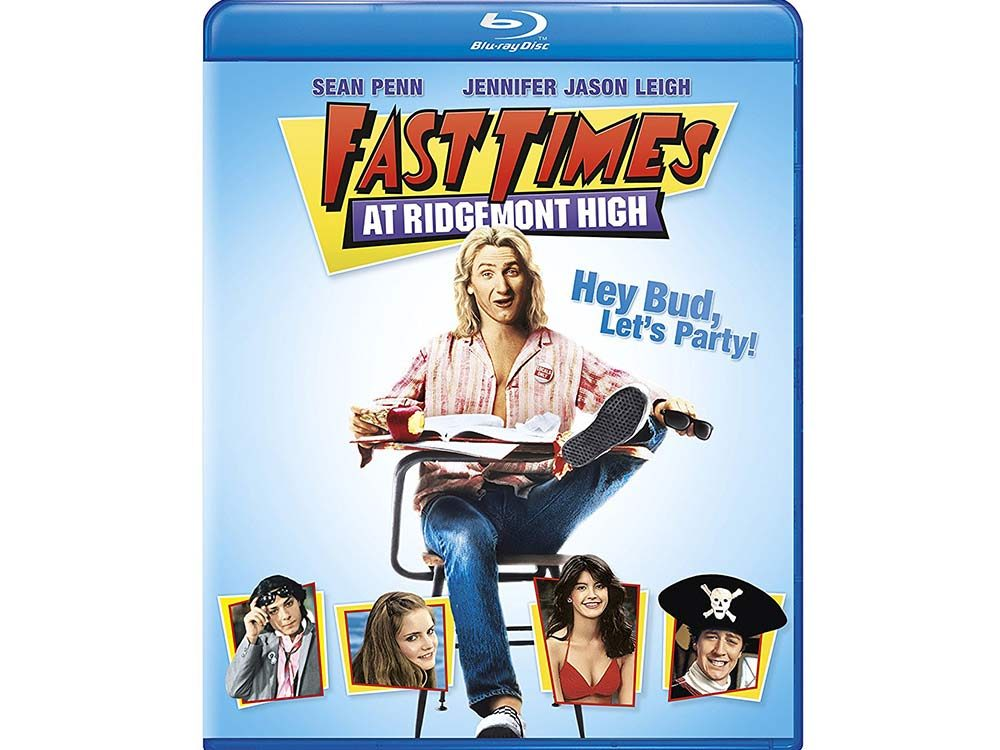 Fast Times at Ridgemont High blu ray cover