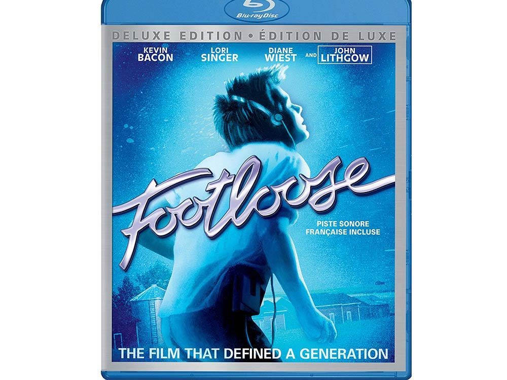 Footloose blu ray cover