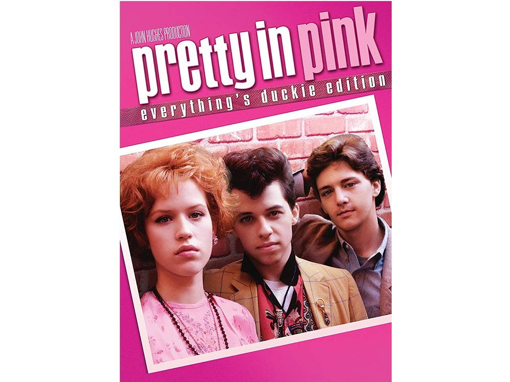 Pretty in Pink DVD cover
