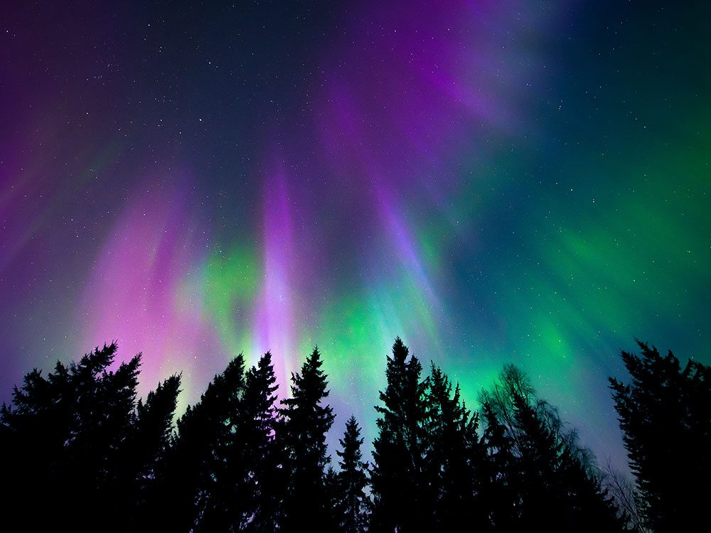 Northern Lights in Quebec