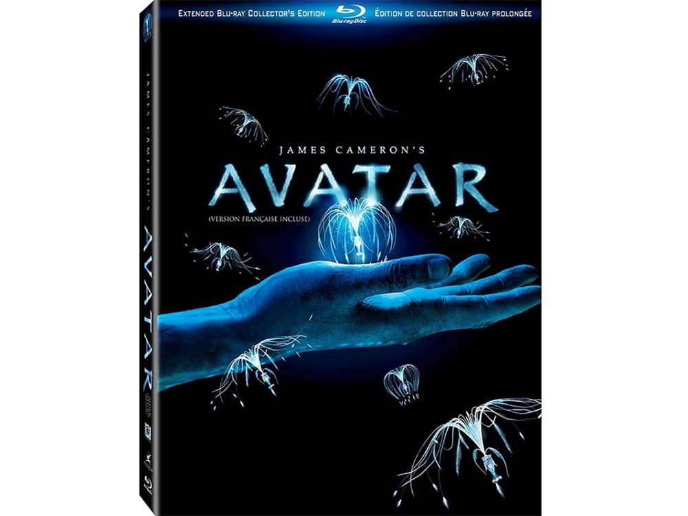 Avatar blu ray cover