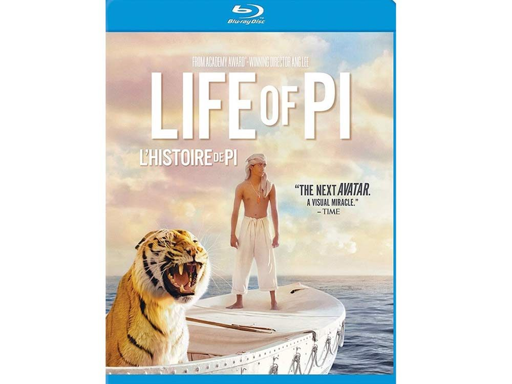 Life of Pi blu ray cover