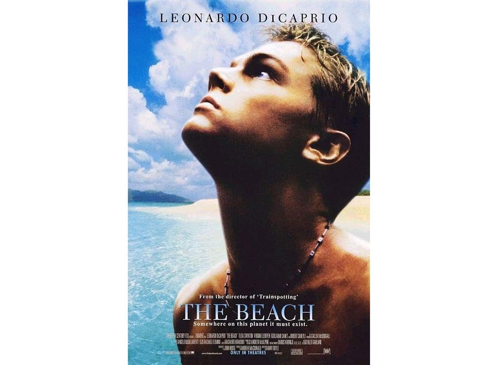 The Beach blu ray cover