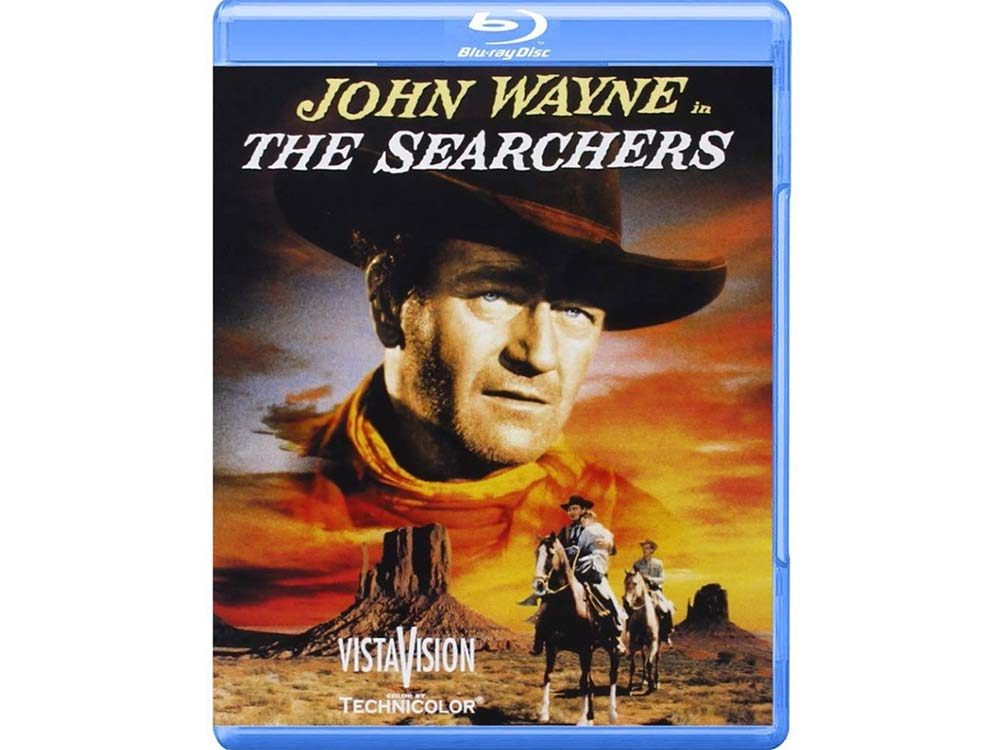 The Searchers blu ray cover