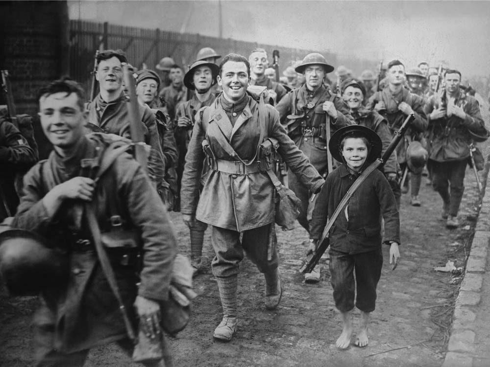 Solderis during World War One