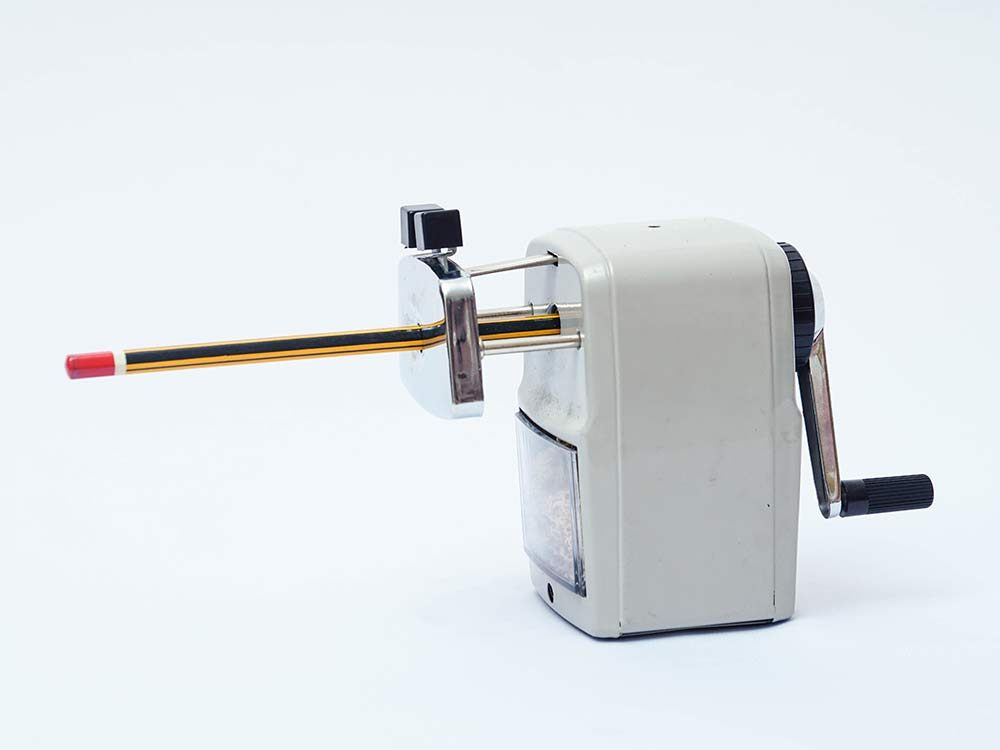 Vintage rotary pencil sharpener