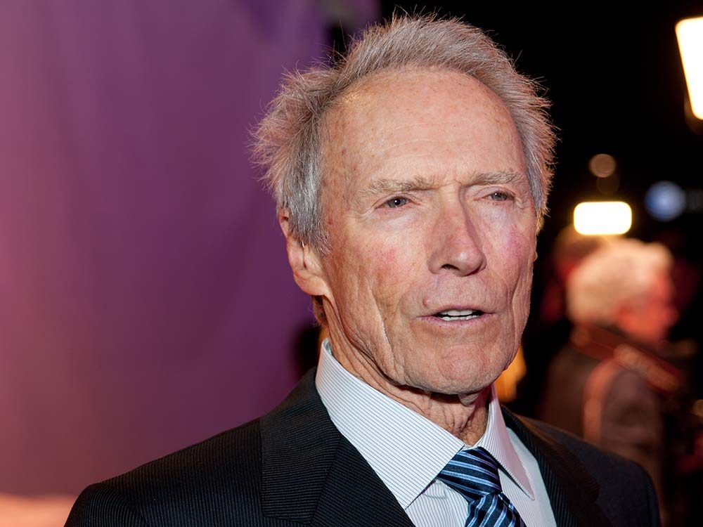 Actor and director Clint Eastwood
