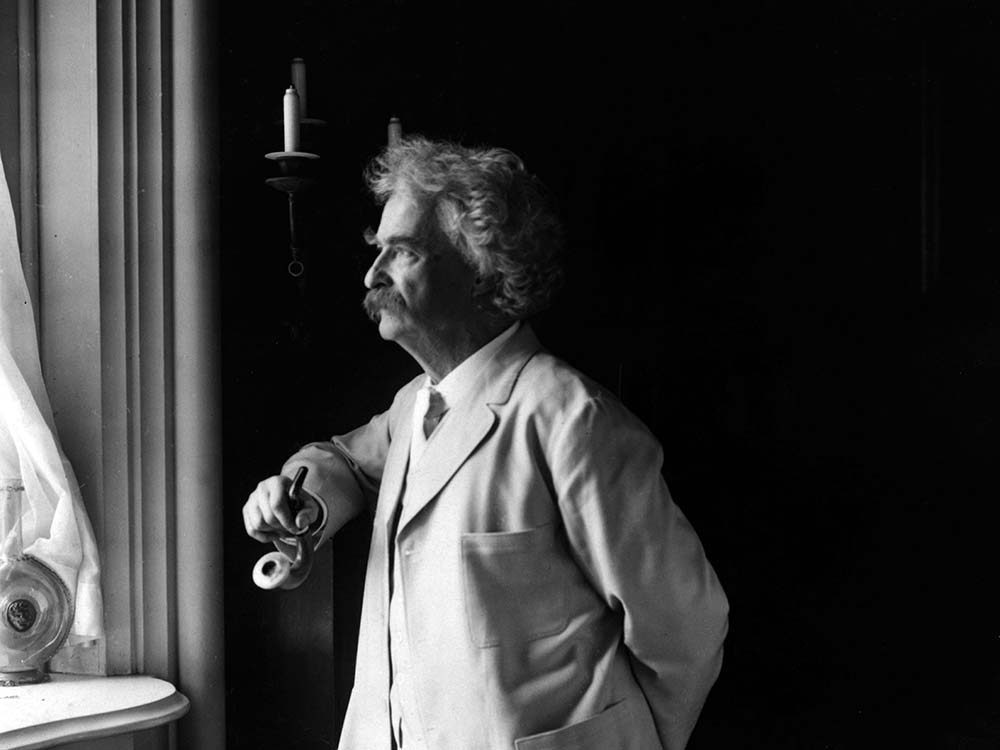American writer and humourist Mark Twain
