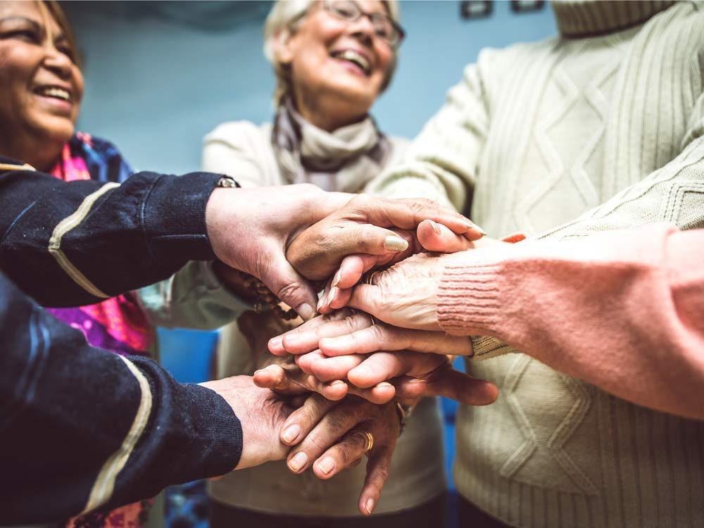 Activities at seniors home