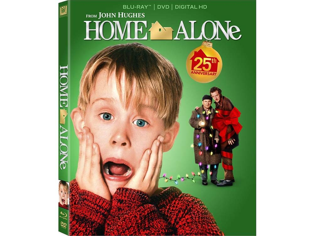 Home Alone blu-ray cover