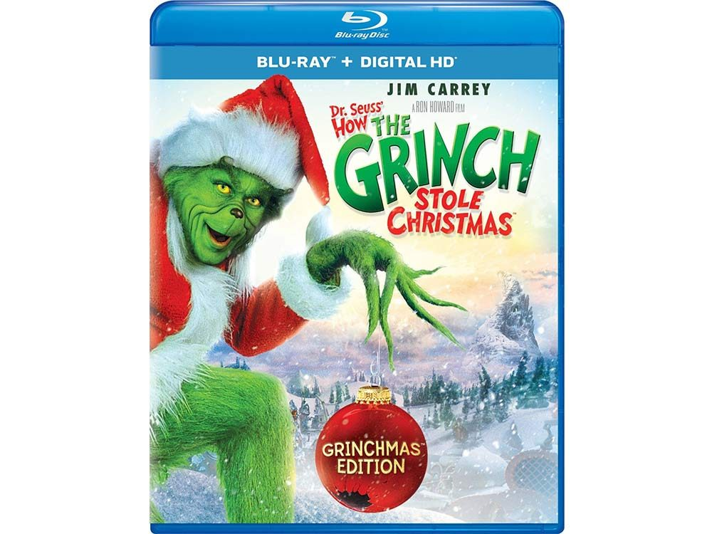 How the Grinch Stole Christmas blu-ray cover