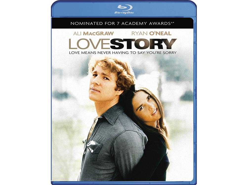 Love Story blu-ray cover