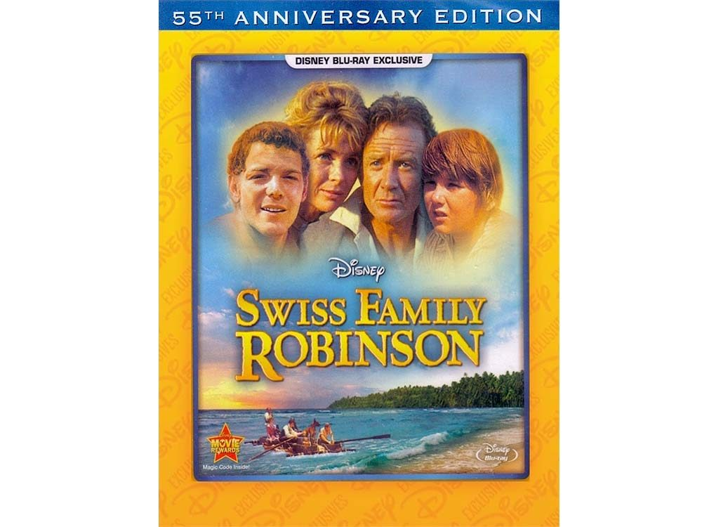 Swiss Family Robinson blu-ray cover