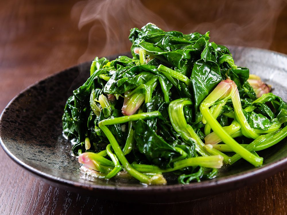 How to get perfect stir-fried leafy greens