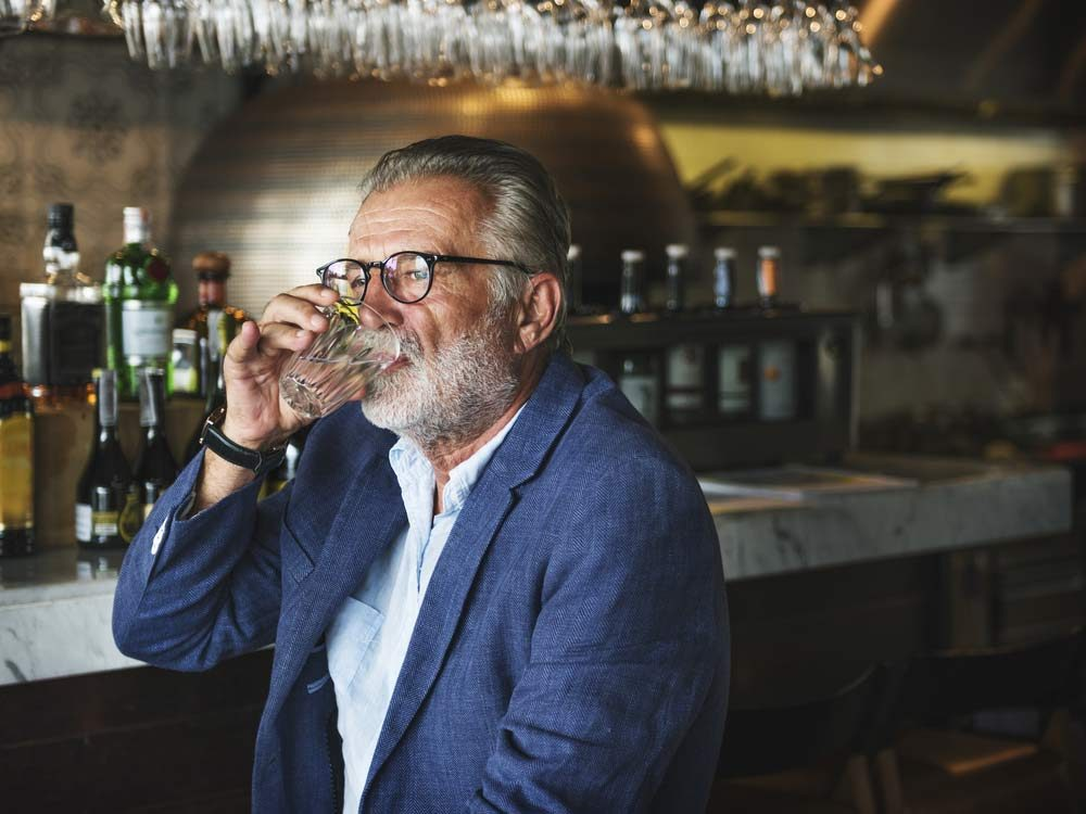 Look smarter by not drinking alcohol