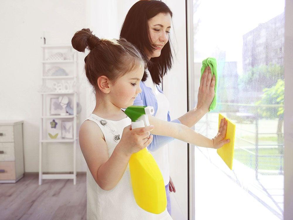 Keep a clean house