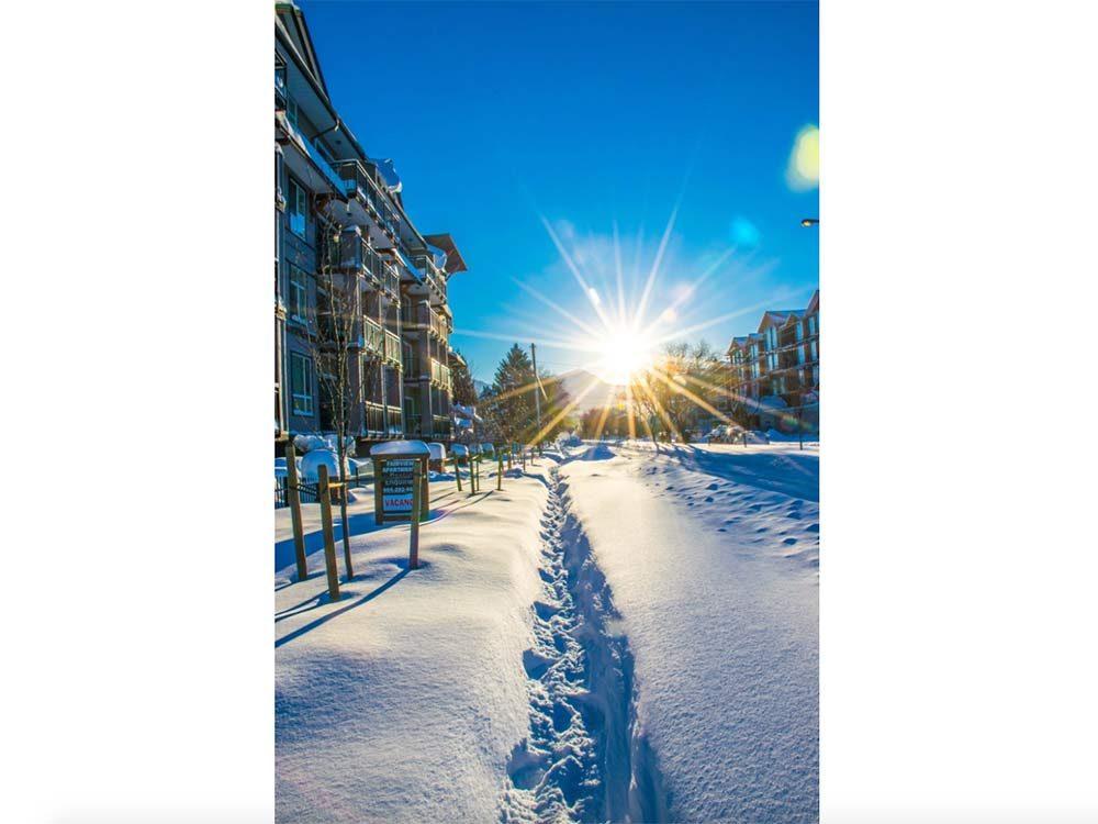 Sunburst in Chilliwack, British Columbia