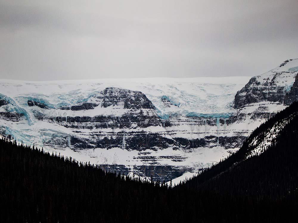 Columbia Ice Fields near Jasper, Alberta